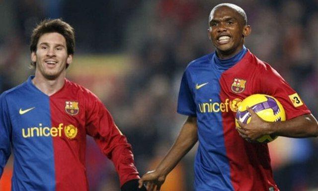 Eto'o përzgjedh pasuesin e vetëm të Lionel Messit te