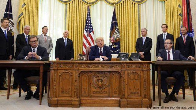 Zbatimi i marrëveshjes në Uashington, përplasje në