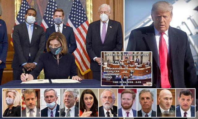 Emrat/ 10 republikanët që votuan pro shkarkimit të Trump