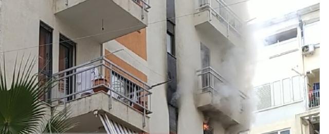 Zjarr në një apartament pranë teleferikut në Dajt
