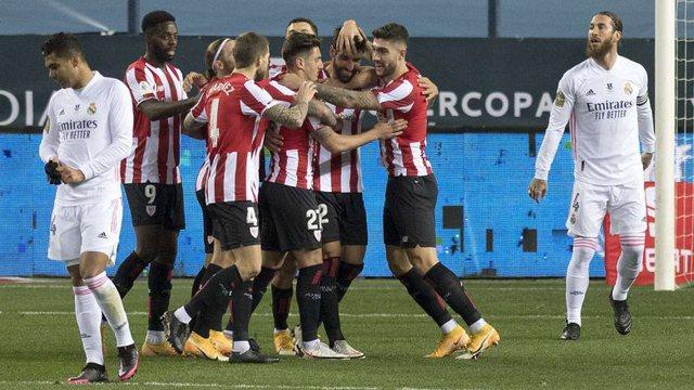 Real Madrid mposhtet nga Athletic Bilbao, Raul Garcia çon baskët