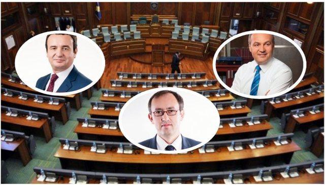 Si garojnë partitë politike në Kosovë/ Tre kandidatë