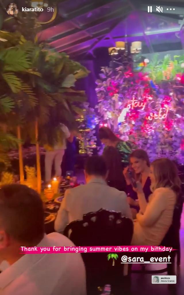 Kiara Tito feston ditëlindjen, brenda super festës me miqtë