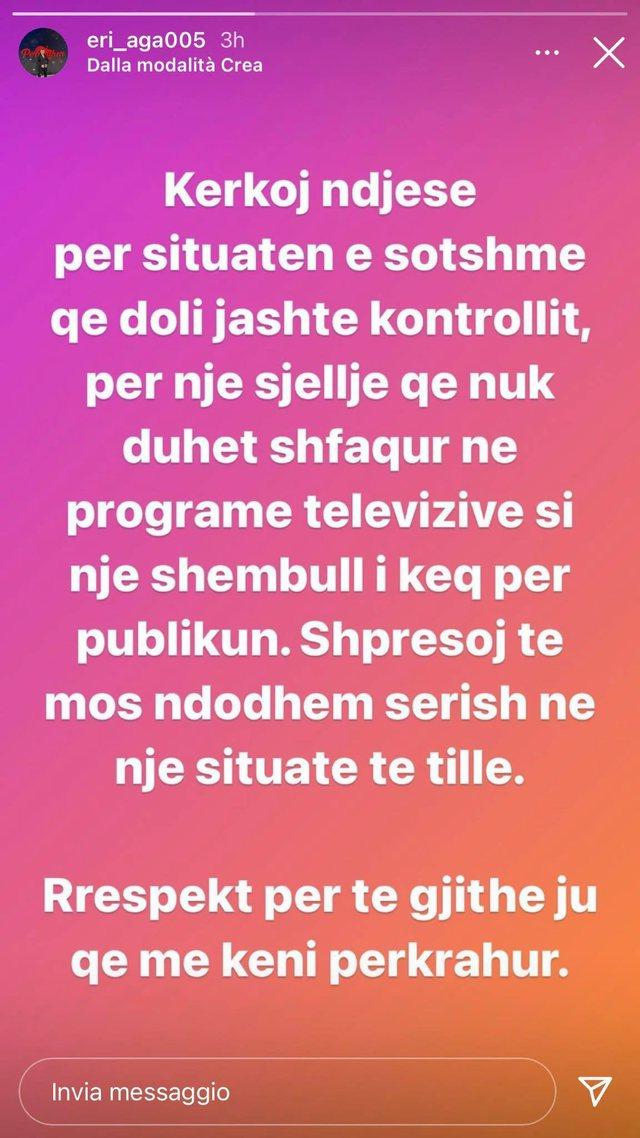 """Pas sherrit me Fationin, konkurrenti i ri i """"Për'puthen"""""""