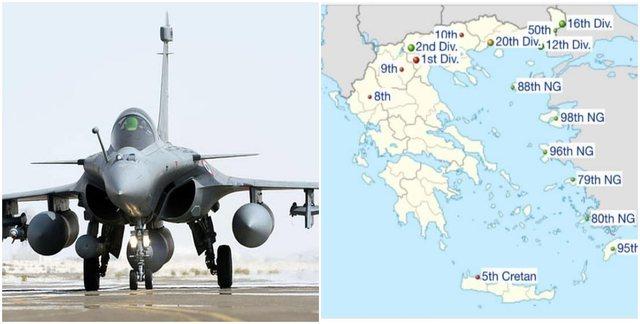 Armatosja e Greqisë me 18 avionë francezë, një blerje