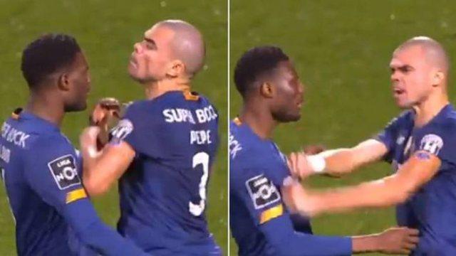 Pepe nuk i harron zakonet, kapet keq me shokun e skuadrës në fund