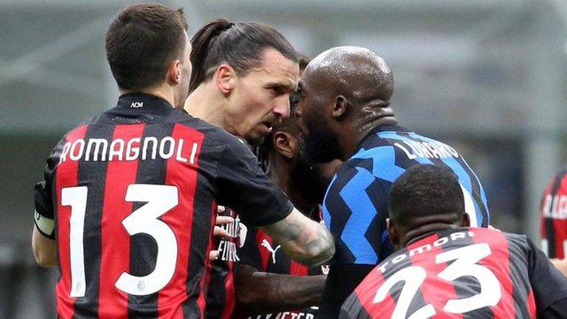 """Derbi """"lufte""""/ Interi eleminon Milanin nga Kupa, Lukaku dhe"""