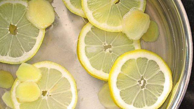 Lëng me limon dhe xhinxher/ Toniku natyral i imunitetit