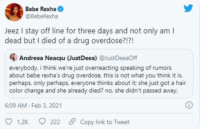 E bënë të vdekur nga mbidoza e drogës, reagon