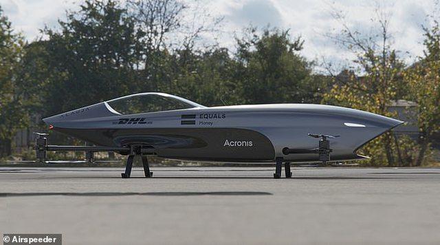 'Formula 1' në qiell, zbulohet makina e parë fluturuese