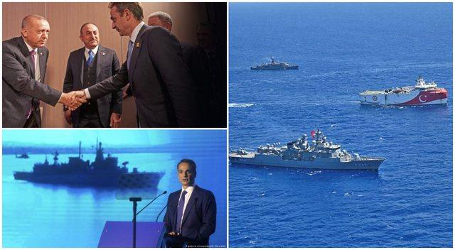 Greqia, me Turqinë përplasje në Hagë, si me