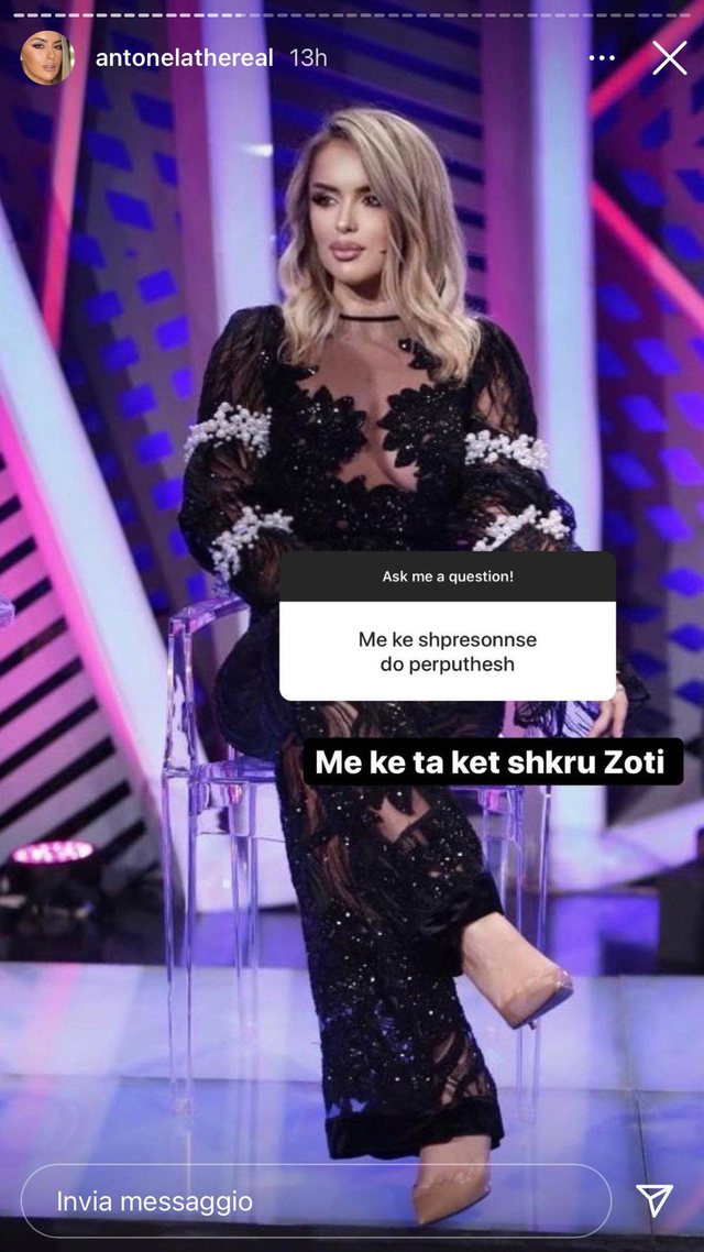 """""""Kam qenë e lidhur me një kosovar"""", Antonela e"""