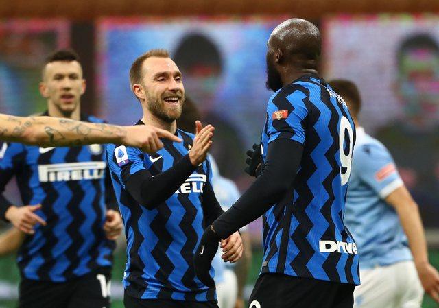 """Video/ Inter mposht Lazion dhe rrëzon Milanin nga """"froni"""", Lukaku"""