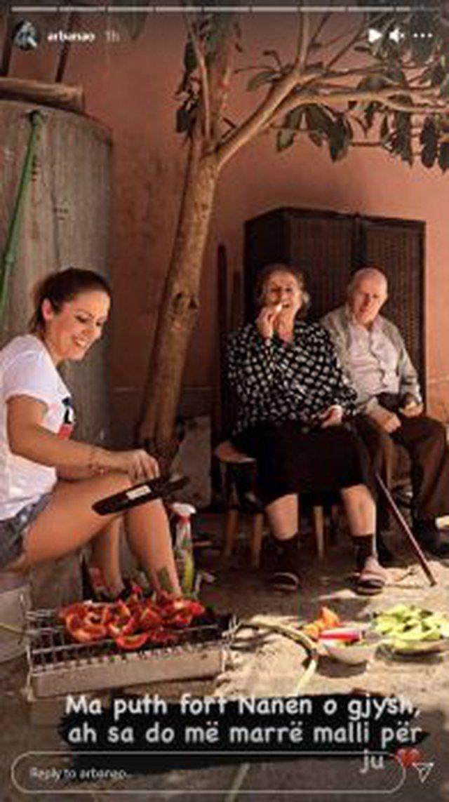 """""""Do më marrë malli""""/ Arbana Osmani humb njeriun e saj"""
