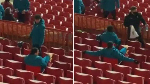 Del VIDEO/ Ibrahimovic ofendohet rëndë nga tifozët serbë