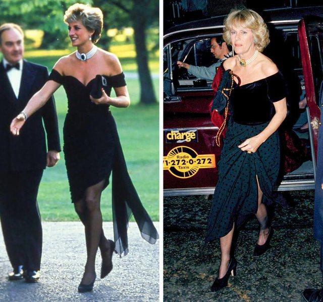 Rastet kur Camilla Parker Bowles është veshur njësoj si