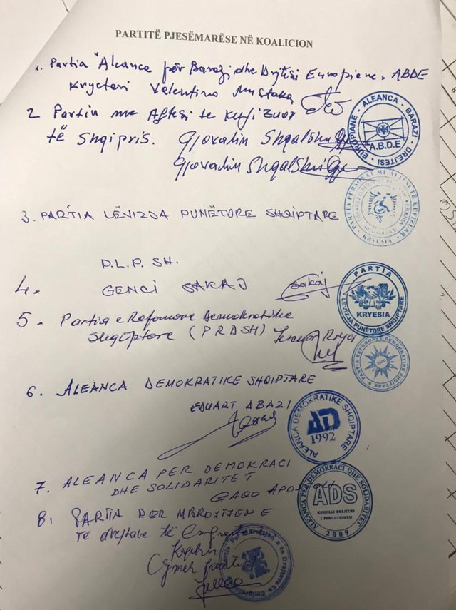 """Regjistrohet në KQZ koalicioni """"Aleanca"""", ja partitë e vogla"""