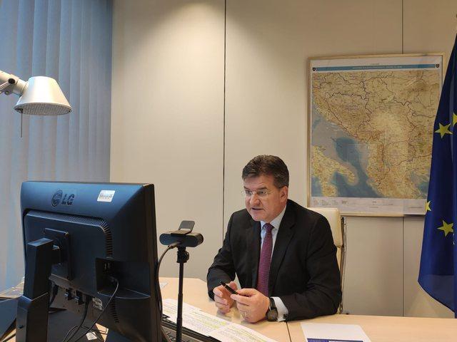 BE përpiqet ta minimizojë skandalin e Lajçak me hartën e