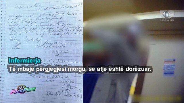Fiks Fare/ Vjedhja e të vdekurit në Tiranë, infermierja akuzon