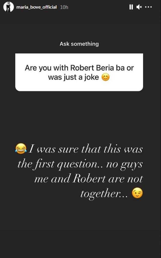 A është në një lidhje me Robert Berishën? Reagon