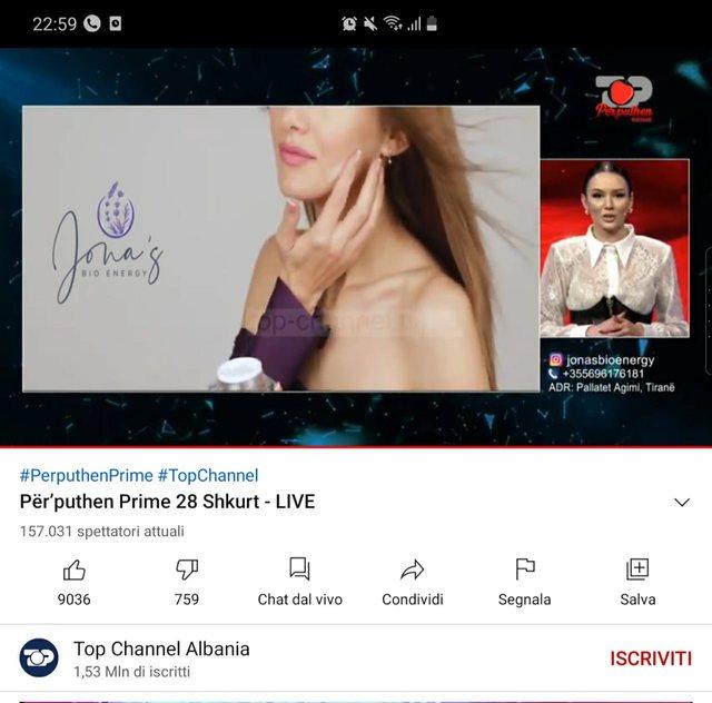 Si kurrë më parë në televizonet shqiptare/