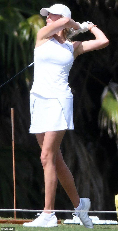 Ivanka Trump fotografohet duke luajtur golf, por zbulon më shumë se