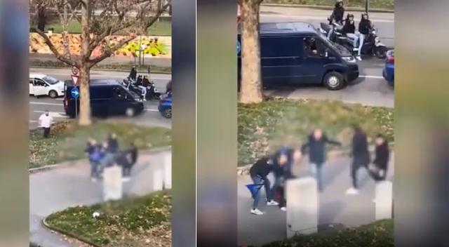VIDEO/ Goditën brutalisht tifozin e Milanit, policia nis hetimet për 6