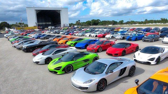 `Gjigantët` prezantojnë supermakinat/ Automjetet më luksoze e