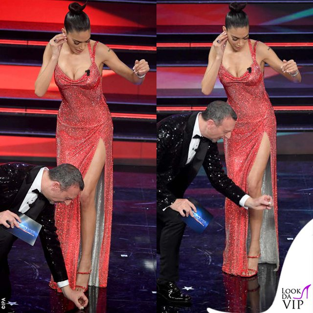 """""""Sanremo 2021"""", detajet e çuditshme në skenën"""