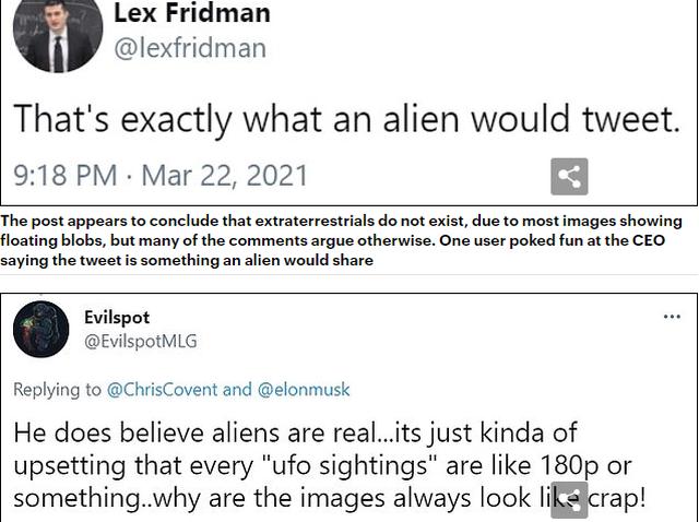 """""""Alienët nuk ekzistojnë""""/ Argumenti i"""
