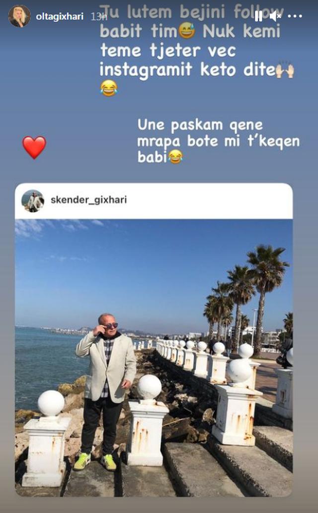 """""""Paskam qenë mbrapa bote"""", Olta Gixhari i hap"""