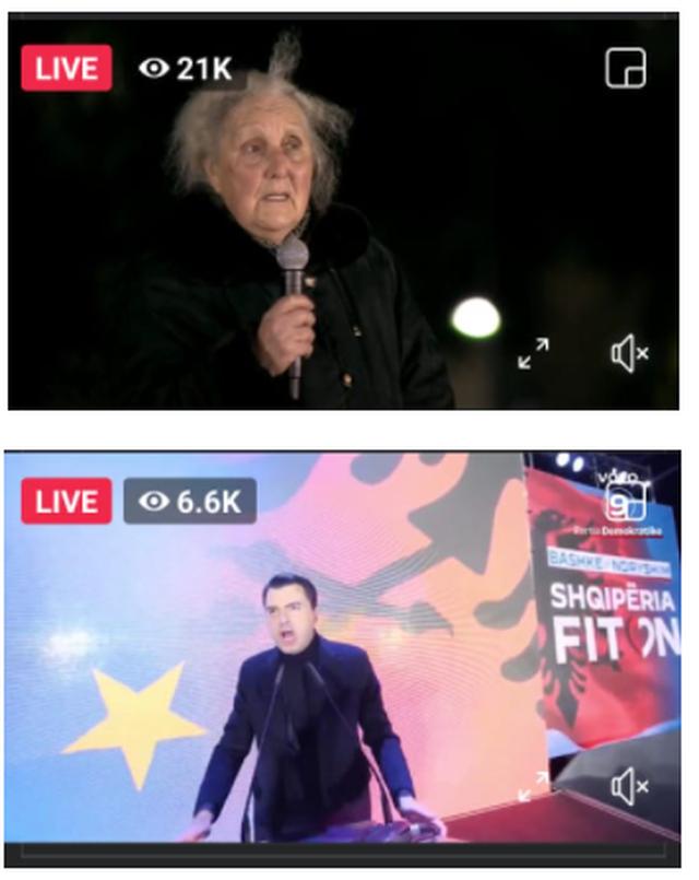 Beteja e audiencës online/ Luljeta Bozo mposht Lulzim Bashën (SHIFRAT)