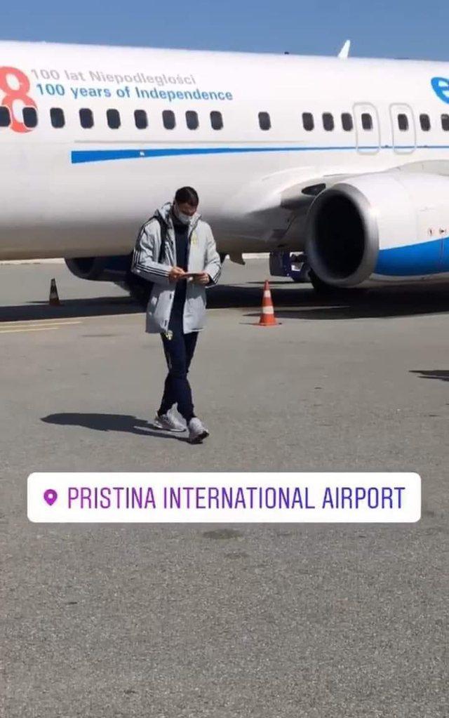 Ndeshja me Kosovën/ Zlatan Ibrahimovic mbërrin në Prishtinë