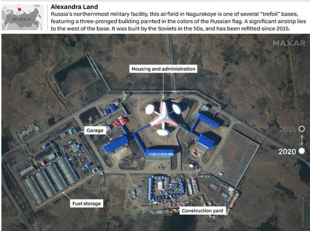 Foto e Video/ SHBA jep alarmin, Rusia po ndërton në Artik bazën