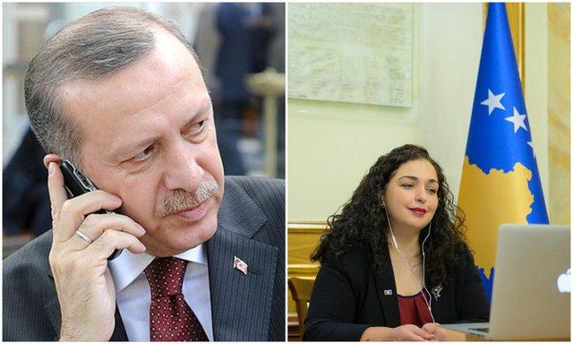 U zgjodh Presidente e Kosovës, Erdogan telefonon Vjosa Osmanin