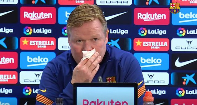 Koeman: Kjo skuadër di të vuajë, fitojmë ndeshjet e mbetura