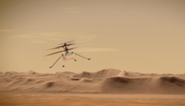 Helikopteri i NASA-s i mbijeton natës së parë të acartë