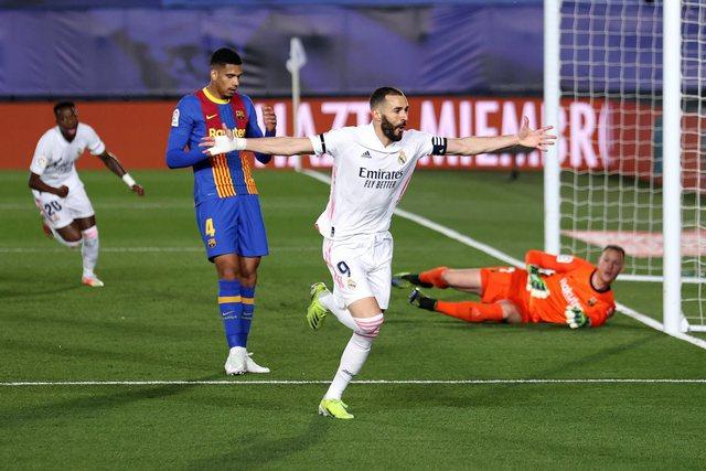 Real Madridi triumfon ndaj Barcelonës në El Clasico dhe bëhet