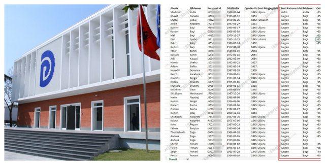 Fotot/ Lista e patronazhistëve të PD, me numra telefoni dhe të