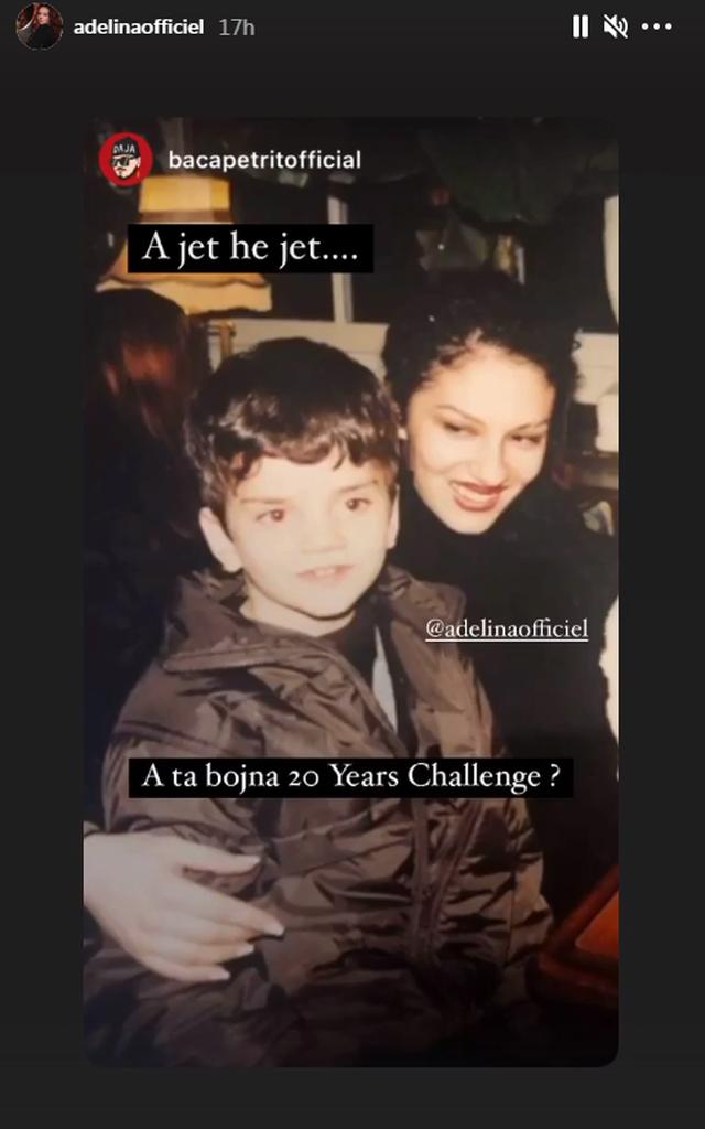 Ju kujtohet Adelina Ismaili 20 vite më parë? Këngëtarja