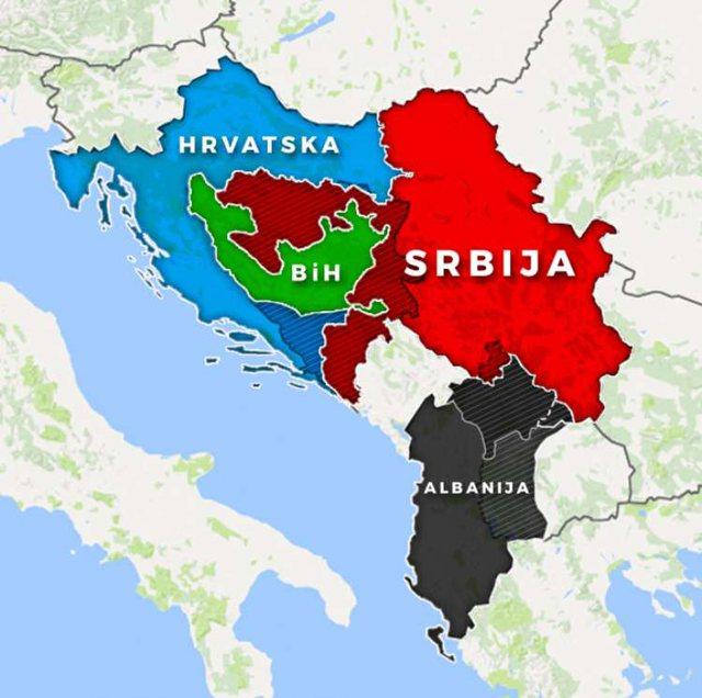 Shqipëria e Madhe dhe Serbia e Madhe/ BE zhvlerëson dokumentin