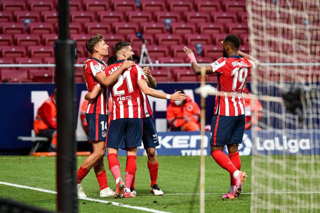 Atletico Madrid mposht Huescan dhe shkon sërish në +3