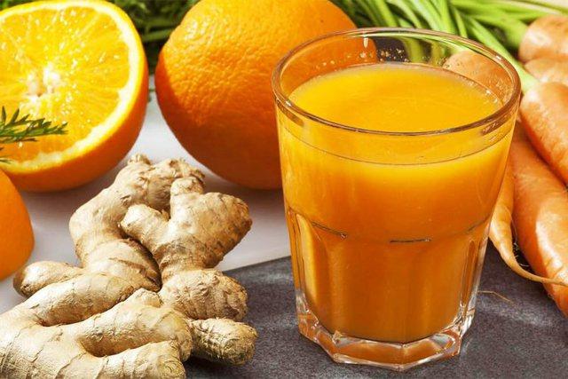 Xhenxhefil, karrota, portokalle/ Lëngu magjik për organizëm