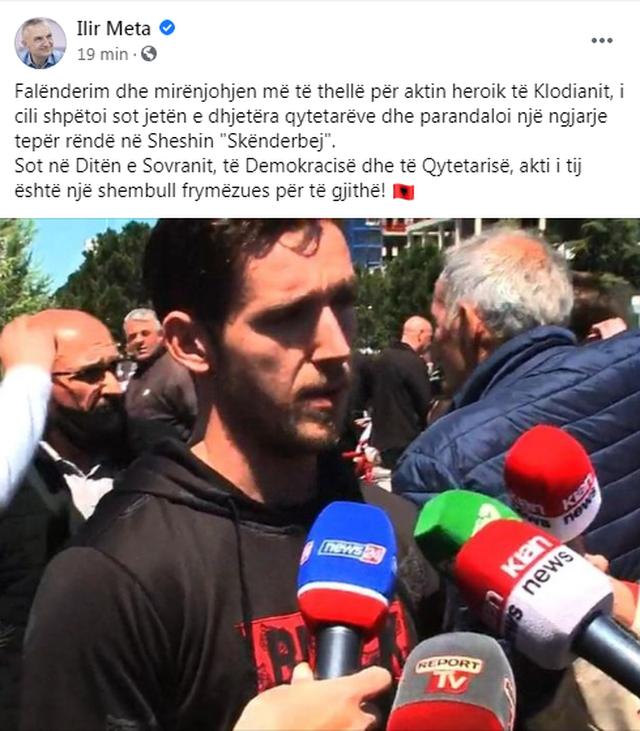 """""""Mirënjohjen më të thellë për aktin heroik"""