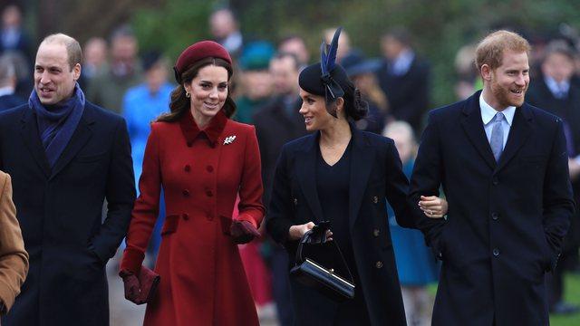 William e Kate festuan 10-vjetorin e martesës, Harry dhe Meghan