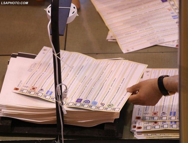 Shifra rekord e votave të pavlefshme, qarqet që kryesojnë