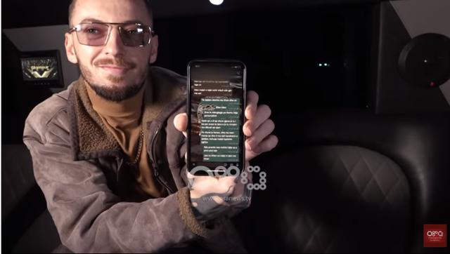 """""""Më falni që po i nxjerr"""", Loco publikon mesazhet me"""