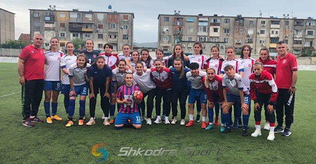 Femra/ Vllaznia, kampione e Shqipërisë për herë të