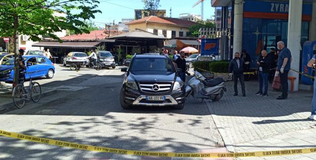 Grabitja e punonjësit të pikës valutore në Tiranë, ja