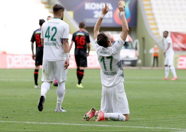 Shkëlqeu me 2 gola dhe 1 asist, Cikalleshi në formacionin e javës